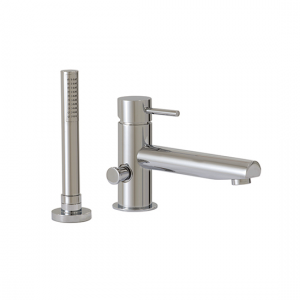 2-piece deckmount tub filler with handshower - 61074