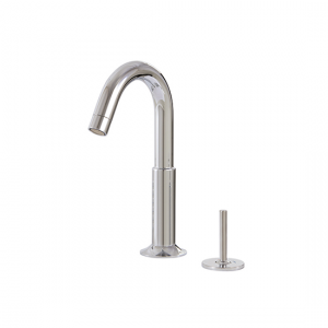 2-piece lavatory faucet with side joystick - 27412