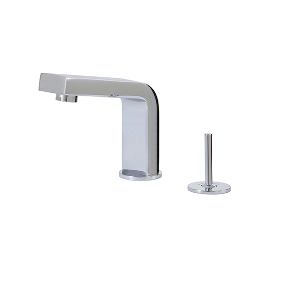 2-piece lavatory faucet with side joystick - 28012
