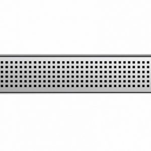 ACO- Quartz Quadrato Grate-37459- Shower Channel