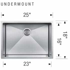 Blanco Kitchen Sink Radius 10 U Large 400468