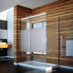 Calm Tomlin Flow-48 Shower Glass Door and Panel