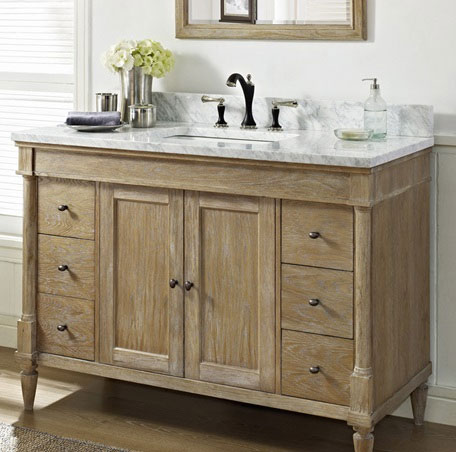 rustic vanity cabinets for bathrooms fairmont designs rustic 48 inch vanity at bath 25774