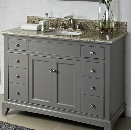 Fairmont Designs Smithfield 48 Quot Vanity Medium Gray