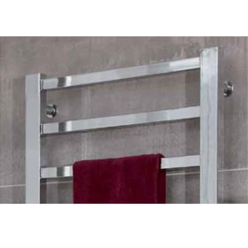 ICO Canada Towel Warmer - MILANO in Chrome