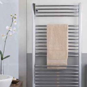 ICO Canada Towel Warmer - SAVOY in Chrome
