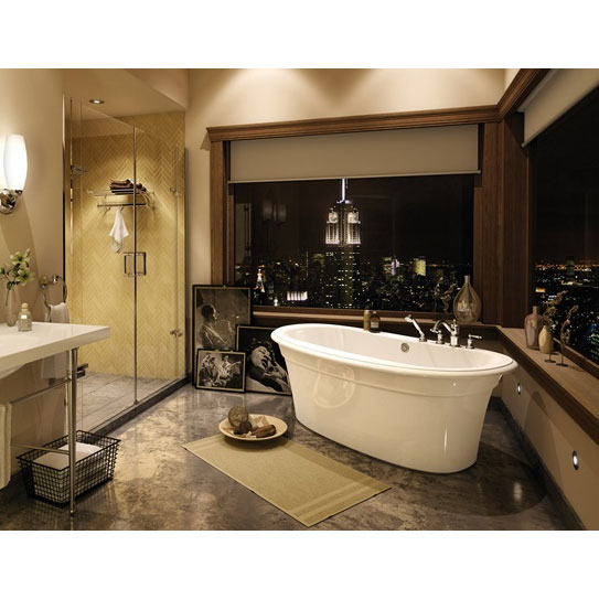 Maax Bath Tub Ella Sleek 6636 Above-the-Floor Rough