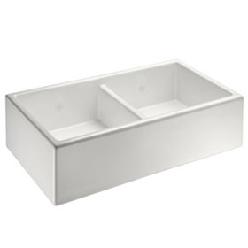 Shaw Shaker Double Bowl SCSH909 Apron Front Sink