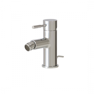 Single-hole bidet faucet with swivel spray - 27424