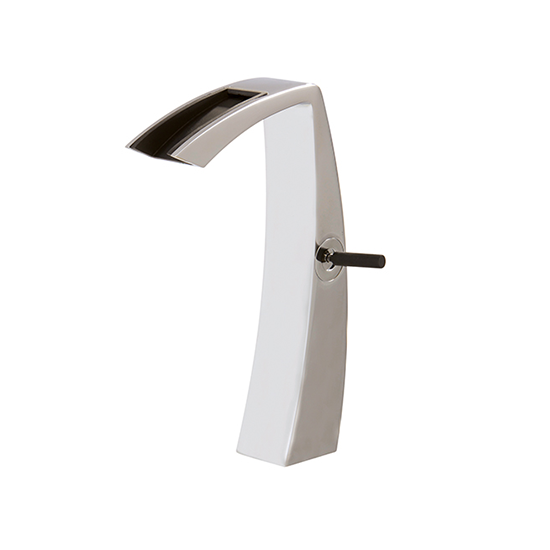 Tall single-hole lavatory faucet with open spout - 61820