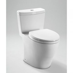 TOTO Aquia One Piece Toilet, 1.6GPF & 0.9GPF (MS654114MF)
