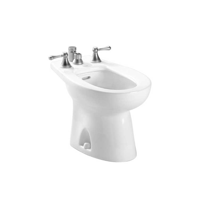 TOTO Piedmont Bidet Deck Mount (BT500B) - Bath fixtures for the ...