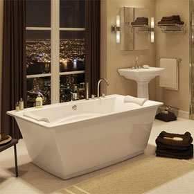 MAAX BATHTUB Optik F - 6636 Sleek post-minimalist