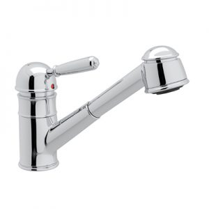 COUNTRY PULL-OUT KITCHEN FAUCET Metal lever # R77V3