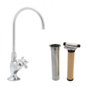 Rohl- COUNTRY KITCHEN C-SPOUT FILTER FAUCET # AKIT1635
