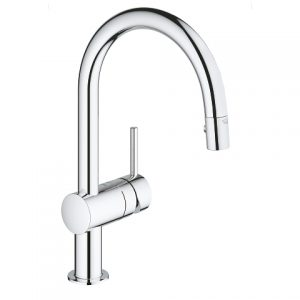 Grohe 31378000 Minta Kitchen Faucet With Pull Down Spray