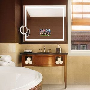 Integrity Lighted Mirror TV by Electric Mirror