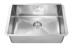 Kindred KCUS33A/10-10BG - Undermount Kitchen Sink