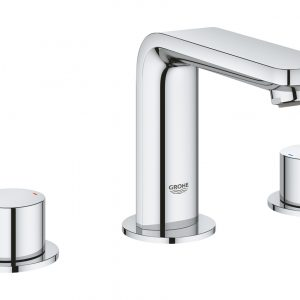 Grohe Lineare 8″ Widespread Two-Handle Bathroom Faucet M-Size