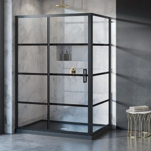 "Fleurco Latitude 2 SIDED, 79"" H Shower Door"
