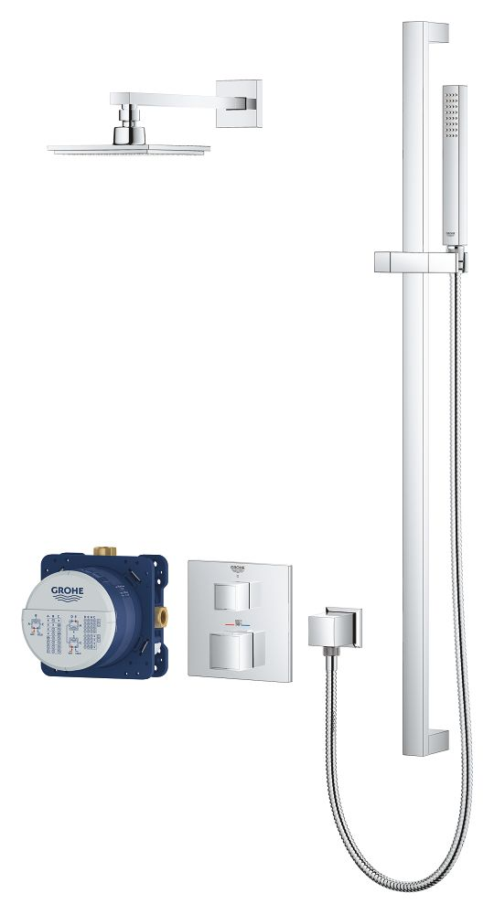 Grohe 34747000 Grohtherm Cube Shower Set